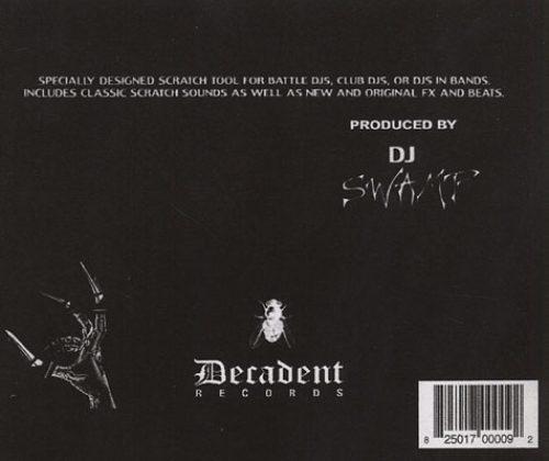 DJ Swamp Scratch Tools CD Back