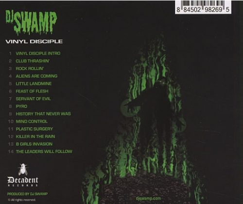 DJ Swamp Vinyl Disciple Back
