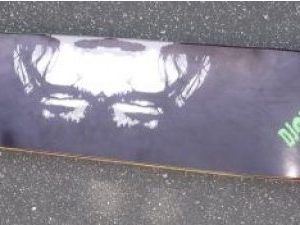 DJ Swamp Vinyl Disciple Skateboard Deck