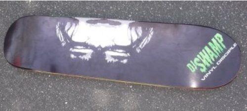 DJ Swamp Vinyl Disciple Skateboard Deck