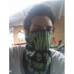 DJ Swamp Skull Bandana included in DJ Swamp Merch Bundle