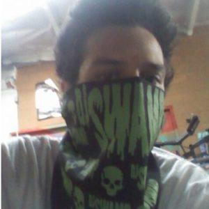 DJ Swamp Skull Bandana