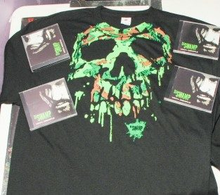 DJ Swamp Skull T-Shirt