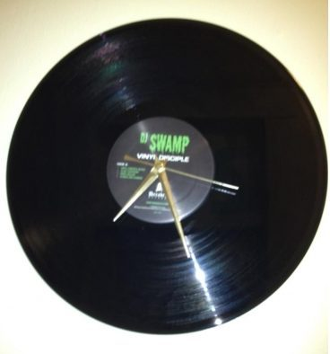 Vinyl Record Analog Clock